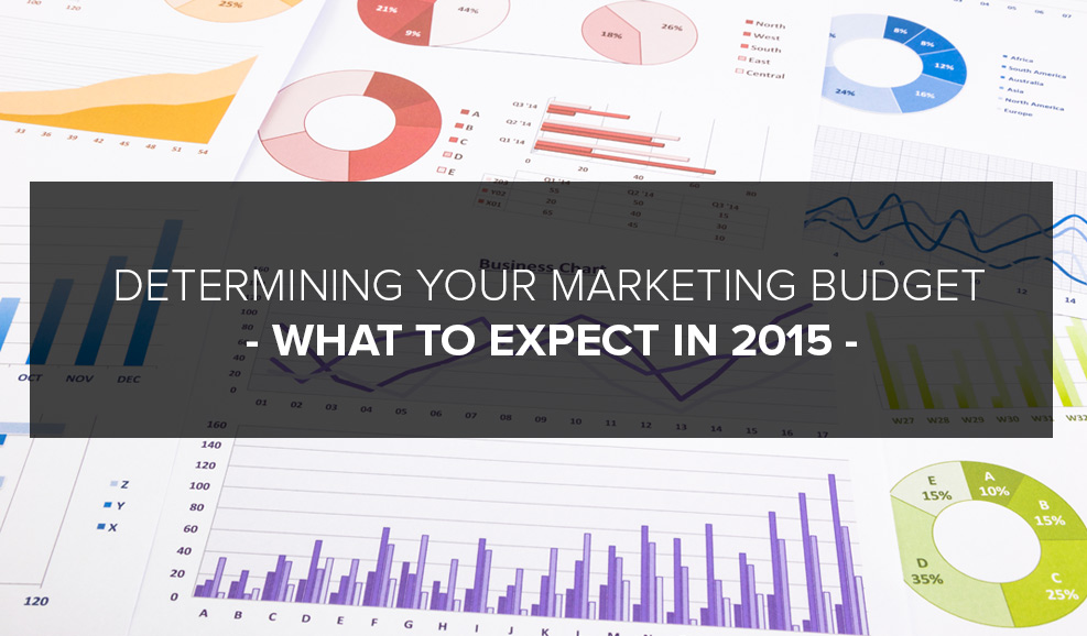 Determining Your Marketing Budget & What To Expect In 2015