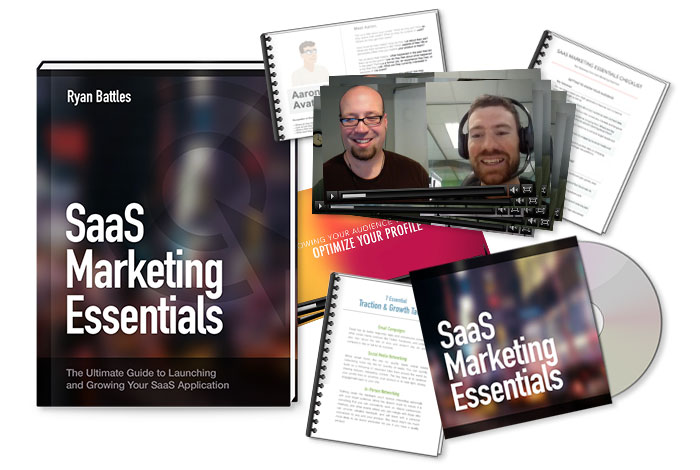 SaaS Marketing Master Class Giveaway! Winner Announced March 31st