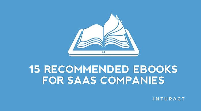 15 Recommended eBooks For SaaS Companies