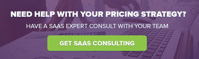 SaaS Pricing Strategy Consulting