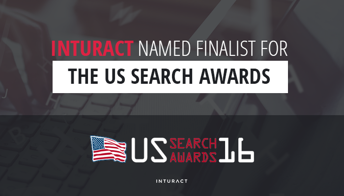 Inturact Named Finalist for the US Search Awards