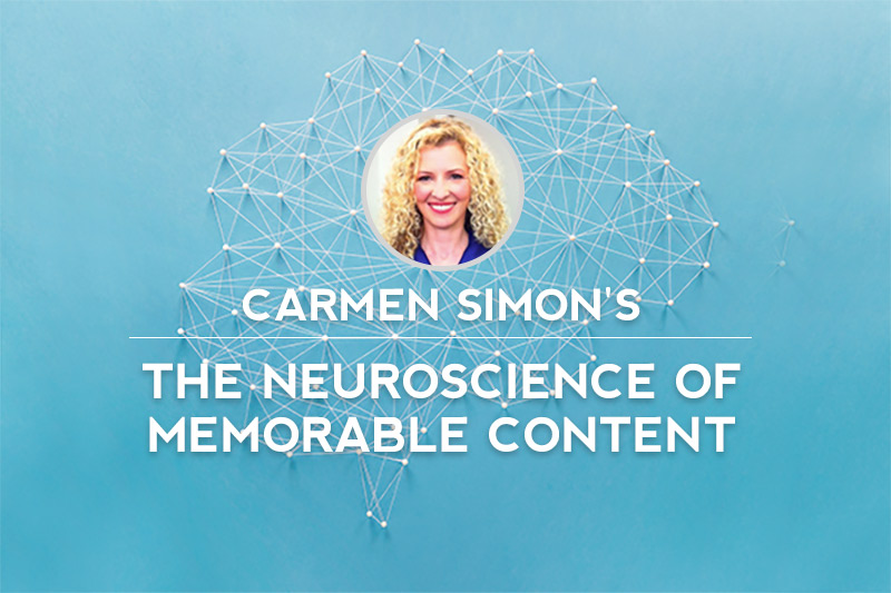 #Inbound15 Live Blog: Dr. Carmen Simon's 'The Neuroscience of Memorable Content'