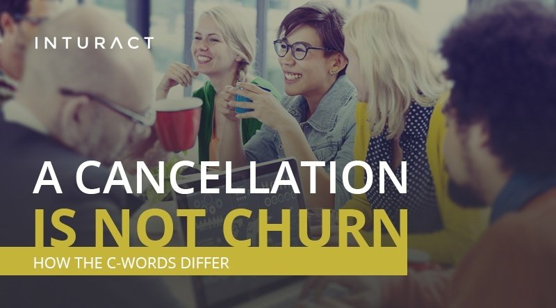 The 4 Types of Churn, and Why Cancellation Isn't One of Them