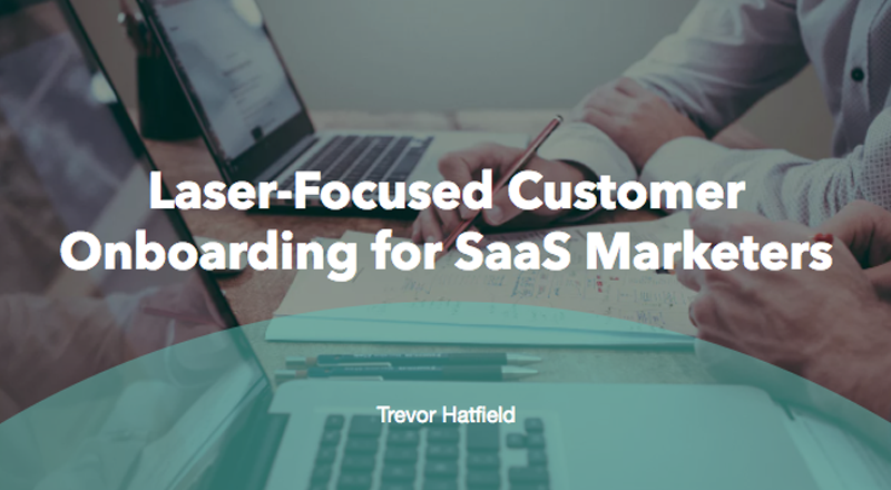 Laser-Focused User Onboarding for SaaS Marketers & Founders